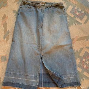 Blue Jean Skirt 🦋